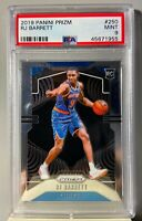 RJ BARRETT 2019 PANINI PRIZM ROOKIE RC #250 MINT PSA 9 GRADED *MUST SEE*
