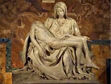 Pietà di Michelangelo 1499 Old Master Arte Pittura Stampa Poster Riproduzione 1987om