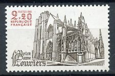 STAMP / TIMBRE FRANCE NEUF N° 2161 ** NOTRE DAME DE LOUVIERS