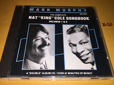 MARK MURPHY Nat King Cole Songbook 17 hits CD nature boy tangerine lush life