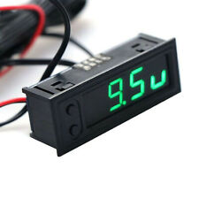 DIY Digital Tube LED Electronic Clock Time + Thermometer + Voltmeter for 12V Car