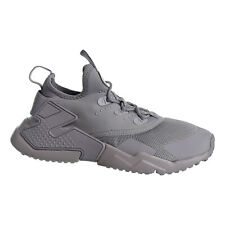 Nike Huarche Drift Big Kids Shoes Wolf Grey-White 943344-003