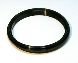 49mm to 52mm Step-up ring Metal adapter double male threaded reverse macro