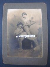 Rare Original C. 1880 Brothel,Cathouse Photo,Cabinet,Redlight,' OLD WEST ',NUDE