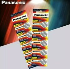 5x CR2032 DL2032 ECR2032 GPCR20 3V Lithium Coin Cell Batteries 5 PACK PANASONIC
