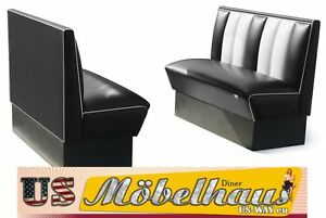 2HW120b American Diner Bench Diner Benches Furniture 50´S USA Style Catering
