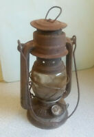 Vintage Paraffin Storm Lantern Made By BEE No 75