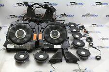 BMW F10 LOGIC7 TOP HIFI HARMAN KARDON AUDIO SOUND SYSTEM SPEAKERS SUBWOOFERS SET