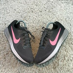 Nike Air Zoom Structure 21 Womens Shoes UK 6 Eur 40 Grey Running Trainers
