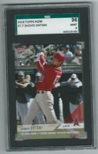2018 Topps Now Shohei Ohtani Rookie #ST-7 Graded Card SGC 96 9 Angels low pop
