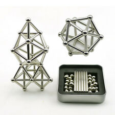 Magnetic Toy Gift Neodymium Magnet Stick Bars and Steel Balls Construction Set