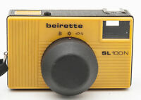 Beirette SL100N SL 100N Sucherkamera Kamera gelb mit Chromar Optik
