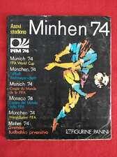 FIFA 1974 Panini World Cup MUNICH WC 74 MUNCHEN COMPLETE Football Sticker Album