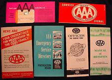 Original 1963 AAA Membership Kit with Card