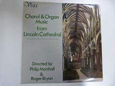 LP CHORAL + ORGAN MUSIC Linconln Cathedral P. Marshall