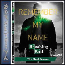 BREAKING BAD - SEASON 5 - THE FINAL SEASON **BRAND NEW DVD **