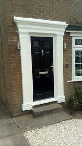 Tudor style door surround