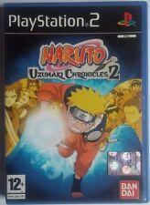NARUTO UZUMAKI CHRONICLES 2 PS2  ITA COMPRA + GIOCHI E PAGA UNA SOLA SPEDIZIONE
