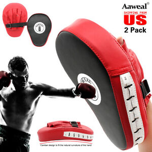 Punching Mitts Kickboxing Training Punch MMA Boxing Glove Hand Target Focus Pads