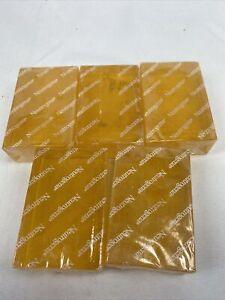 (5) Neutrogena Transparent Facial Bar Acne-Prone Skin Formula Soap - 3.5 oz.