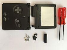 Austausch Ersatz Komplett Gehäuse für Gameboy Advance SP / GBA SP Schwarz