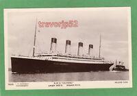RMS Olympic White Star Line Titanic interest RP pc unused Hoffmann Ref M42