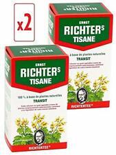 Lot de 2 boîtes de Tisane infusion Ernst Richter 40g - 100% à base de plantes