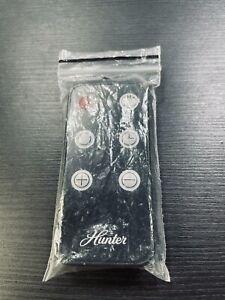 Hunter Replacement Fan Remote Control Black 6 Button - New!