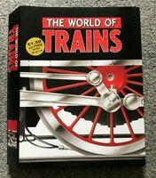THE WORLD OF TRAINS VOLUME ONE PARTS 1 - 15 RAILWAY MAGAZINES IN BINDER