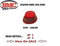 SUZUKI RMZ 450 08 2008 AIR FILTER BMC performance