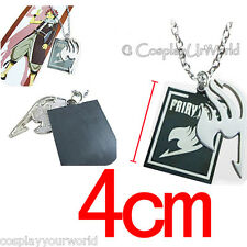 Fairy Tail Anime Silver Tattoo Logo Jewelry Necklace Pendant Cosplay Gift New