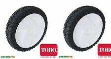 savers 2 Genuine TORO - FRONT WHEELS - 105-1814 U401