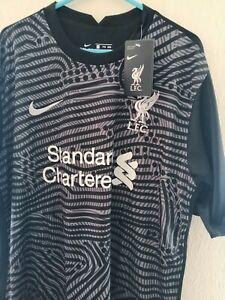 Liverpool black goalkeeper shirt XL with Becker