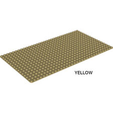 LEGO - Rectangle Base Plate - 16 X 32 - Bright Yellow