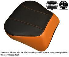 ORANGE & BLACK CUSTOM FITS HARLEY BRAKEOUT 13-16 SUNDOWNER REAR SEAT COVER