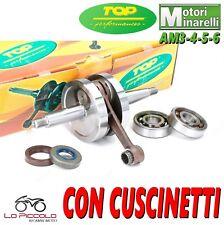 IM07062 ALBERO MOTORE TOP + CUSCINETTI E PARAOLI MOTORI MINARELLI AM3-4-5 AM6 50
