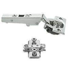 20x Clip Top BLUMOTION BLUM 71B3550 Soft Close Screw-On Cabinet Hinge Set 110°