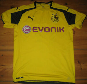 AUBAMEYANG 17 Flock Original BVB Borussia Dortmund Trikot 25cm