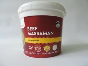Curry Flavours Beef Massaman Spice Mix 1kg
