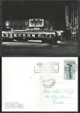 1954 ITALIA CARTOLINA ELICOTTERO ANNULLO 27.4 MILANO TORINO TIMBRO ARRIVO - X3