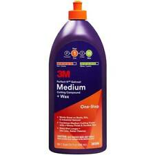 3M Marine Boat 1 Step Perfect-It Gelcoat Medium Cutting Polish + Wax Quart 36106