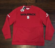Adidas Men's North Carolina State Wolfpack CLIMACOOL Pullover Sweater Sz. L NEW