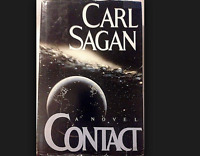 Contact a classic Hardcover book by astronomer Carl Sagan FREE SHIPPING