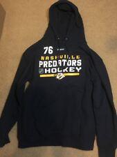 Nashville Predators PK Subban Reebok Hoodie Size Large