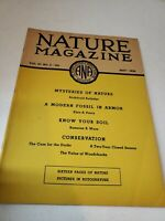 Nature Magazine Vol. 27, NO. 5, May 1936 Mysteries of Nature No Label Complete