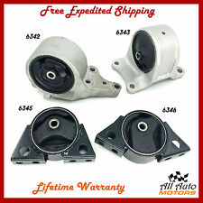 For 1993-2001 Nissan Altima 2.4L Engine Motor & Trans. Mount Set 4PCS. for Auto.