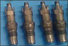 Set of 4 Fuel Injectors Monark Nozzles Mercedes 240d 220d 180d monarch w123