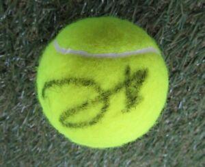 Johanna Konta Hand Signed Wimbledon Tennis Ball - Autograph