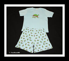 """New Adult Baby Play Diaper Pajamas Short Set Chest 38"""" Size Small100% Cotton"""