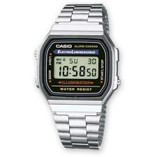 Casio Classic A168WA-1YES Unisex Digital Wristwatch - Silver